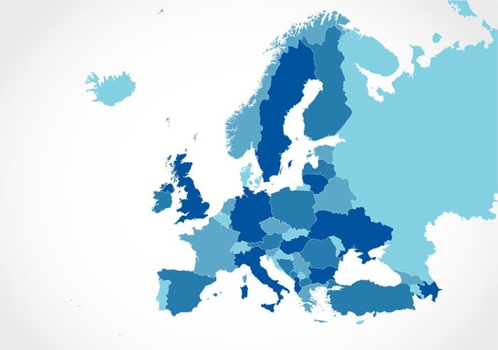 Europe Map With Countries